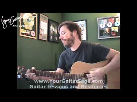 Our Song - Taylor Swift - Lefty Beginner Acoustic Guitar Lesson