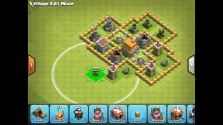 Clash of clans 6th town hall trophy base