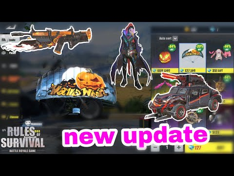 Review ការ Update ថ្មី/rules Of Survival New Update/Bo Gamer