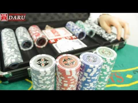 Видео Покерный набор premium 500