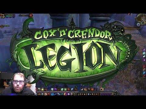 Cox n' Crendor Warcraft Legion - Azsuna Questing