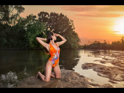River Swimsuit Model Photography Behind The Scenes