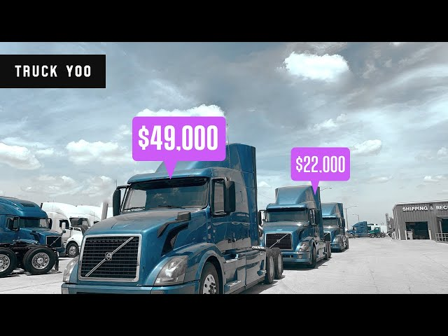 Why are Semi Truck Prices so High and Why shouldn't you buy now. Episode 65