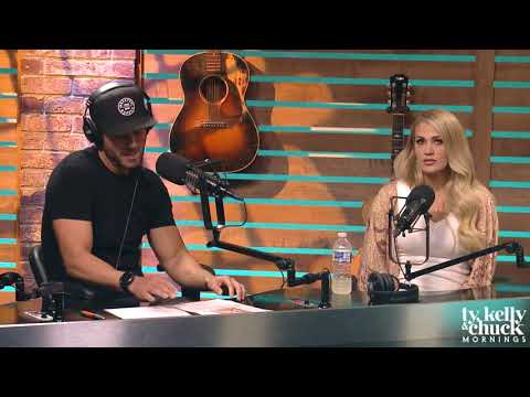 "Chuck Wicks Tells Carrie Underwood She Looks ""So Pregnant"" - Ty, Kelly & Chuck"