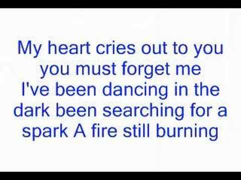 Dj cammy - dancing in the dark lyrics