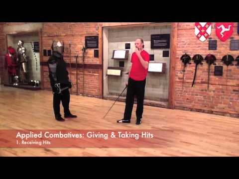 Applied Combatives: Giving and Taking Hits - Longsword