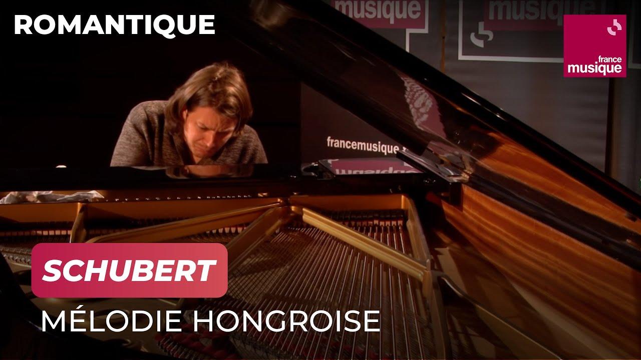 Schubert : Mélodie hongroise D. 817, par David Fray - YouTube