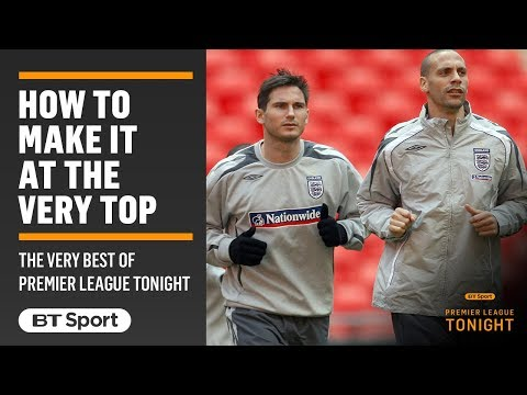 How to make it as a top footballer? Lampard, Ferdinand and McManaman explain