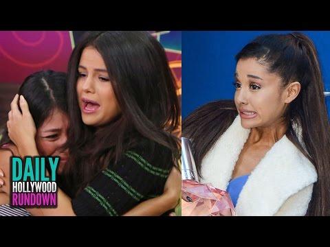 Selena Gomez Has PANIC Attack & Thanks Fans - Ariana Grande's NEW LOOK (DHR)