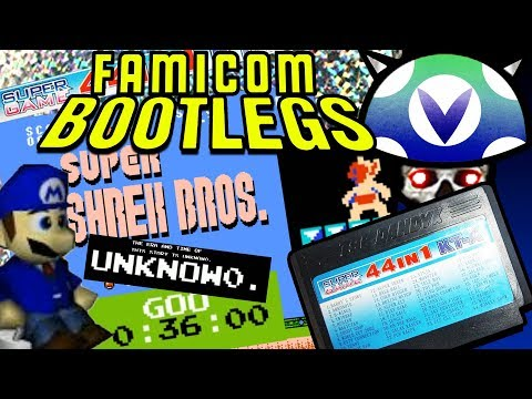 [Vinesauce] Joel - Famicom Bootlegs ( 44-in-1 Super Game KT-A)