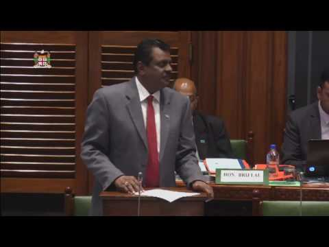 Fijian Minister for Local Government's Statement on the 2017-2018 National Budget.