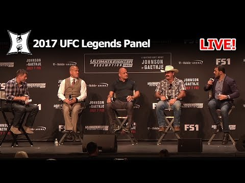 "UFC Legends Panel Hosted By Brian ""All American"" Stann: Frye - Rutten - Ortiz - Nogueira (LIVE)"