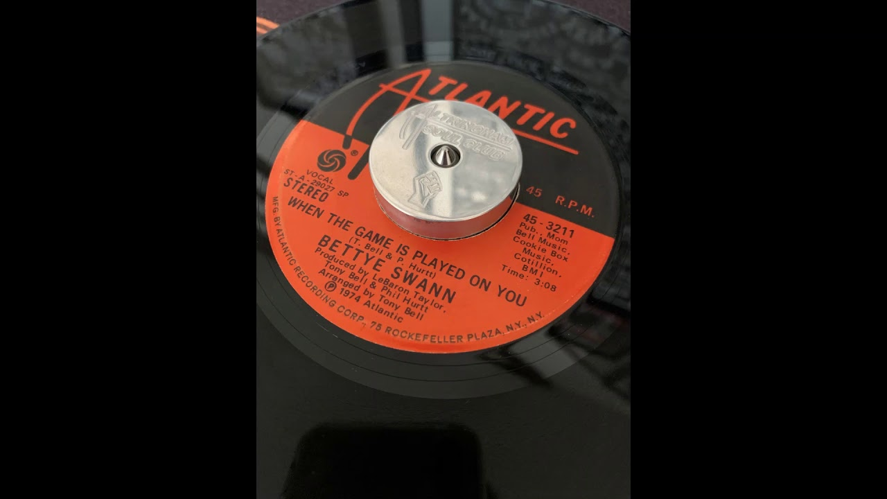 Bettye Swann - When The Game Is Played On You - YouTube
