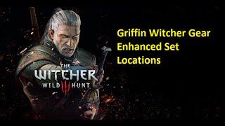 The Witcher 3 Wild Hunt - Armadura do Grifo melhorada - Griffin Witcher Gear Enhanced Set Locations