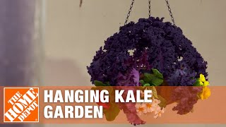 How To Make A Hanging Kale Garden
