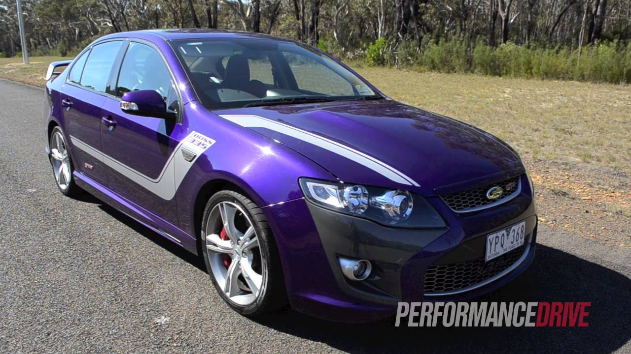 2012 FPV GT-P engine sound and 0-100km/h acceleration - YouTube