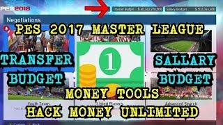 pES 2017  Master League Money Tools V3