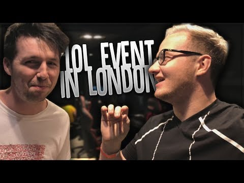 London with Callux & League of Legends! thumbnail