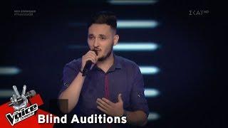Κυριάκος Κωνσταντίνου - Cry Me A River | 2o Blind Audition | The Voice of Greece
