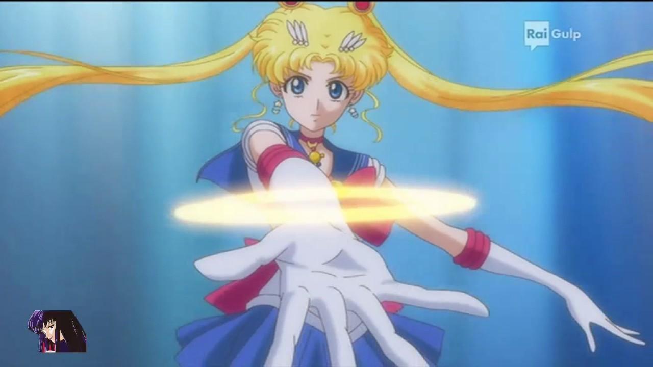 Sailor Moon Crystal Rai Gulp Attacco Di Sailor Moon