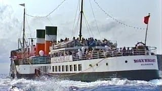 Paddle Steamer Ships at Sea - Waverley - Plato Video