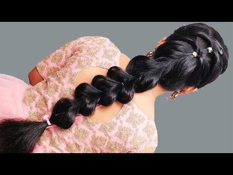 Beautiful Hairstyle girls || Easy Quick Hairstyles for Thin hair || Simple hair style Party || Hair