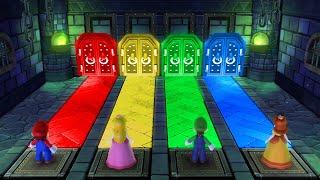 Mario Party 10 MiniGames - Mario Vs Peach Vs Luigi Vs Daisy (Master Cpu)