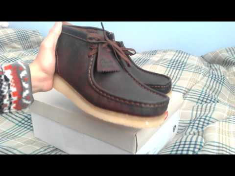 Clarks Wallabee Boot Beeswax Leather Chukka Review Crepe Soles