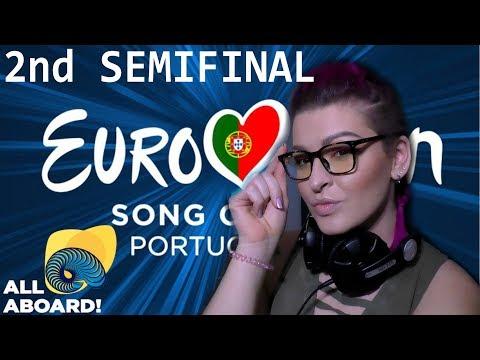 РЕАКЦИЯ 2 ПОЛУФИНАЛ Евровидение 2018 | REACTION 2 SEMIFINAL Eurovision 2018