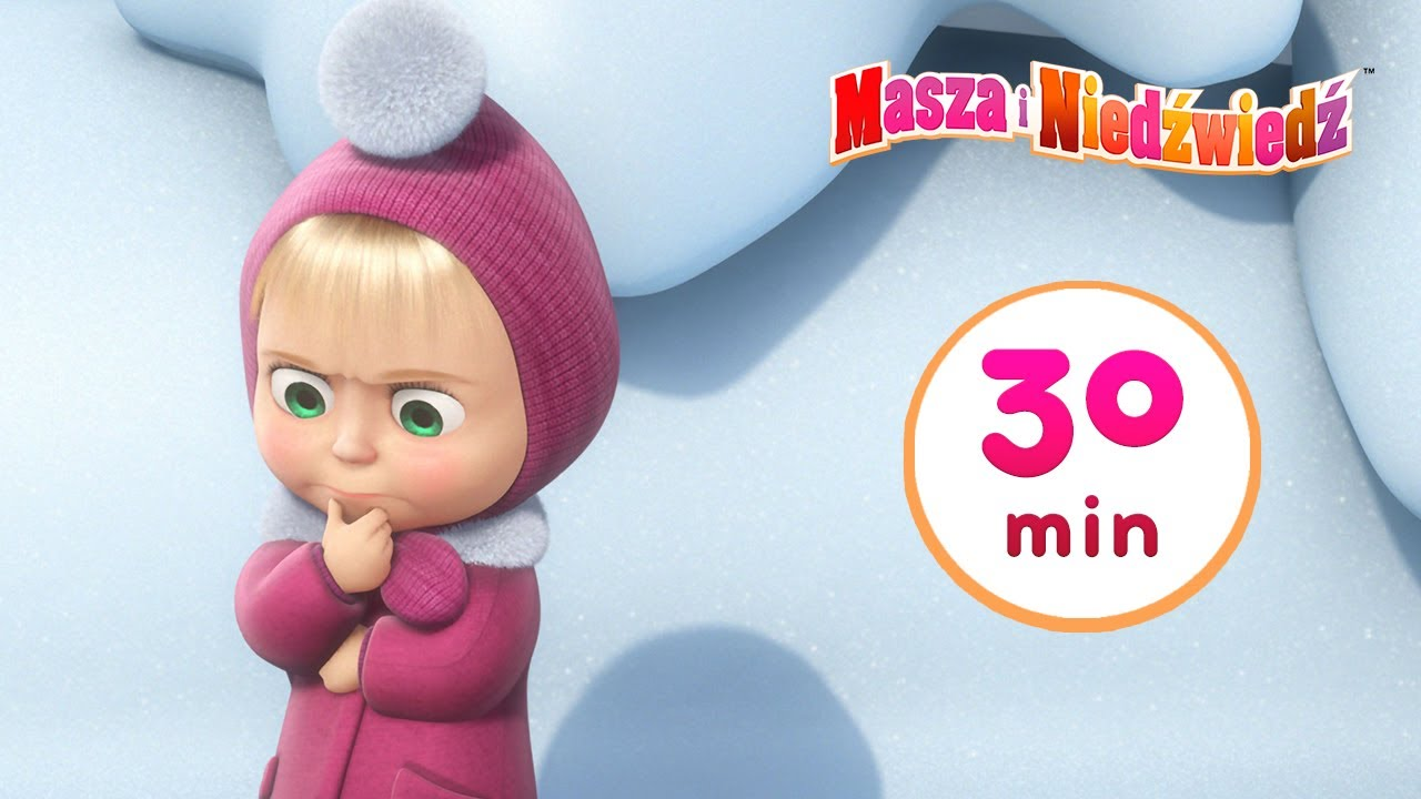 Masza i Niedźwiedź 🐾 Ślady zwierząt niewidzianych ! 🐾 Kolekcja 25 ⏱ 30 min 👱♀️ Masha and the Bear