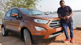 Ford Ecosport 2019 Malayalam Review, Price, Interior & Test Drive