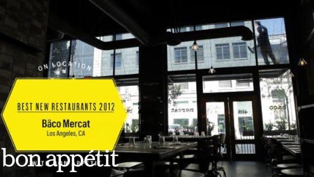 Bäco Mercat: BA's Best Restaurants in America 2012