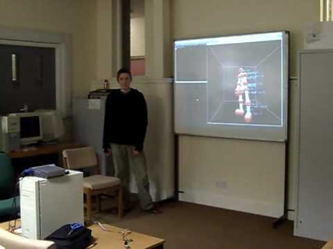 Orient wireless inertial motion capture demo