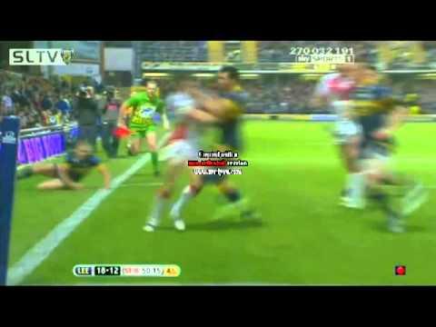 Leeds vs St helens 2012 Tommy Makinson fantastic try