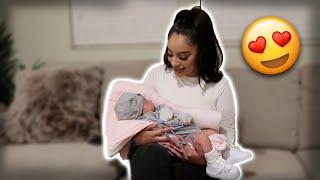ALONDRA MEETS BABY E!! SO CUTE!! YouTube Videos