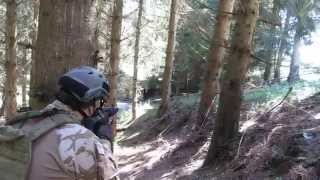 Airsoft War Area-E   July, 12th 2014   Germany   Ares G36   TopTech MP5 SD6   Tokyo Marui P226