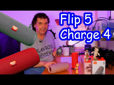 Two JBL Flip 5s Vs JBL Charge 4 - Who Has The Biggest Bass Boom?