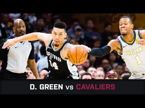 Danny Green S Highlights 22 Pts 1 Stl 1 Blk 5 Threes At Cavaliers 25 02 2018 Youtube