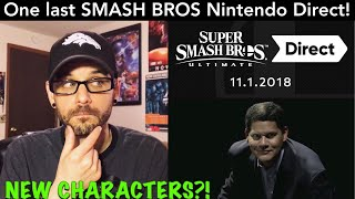 Smash Bros Ultimate Nintendo Direct CONFIRMED for TOMORROW! What will we see? (NO SPOILERS) | Ro2R