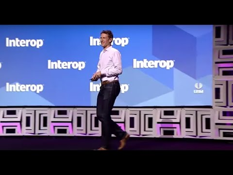Transforming Your Business with a Digital Network Architecture | Interop Keynote | Jeff Reed, Cisco