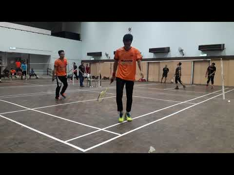 Badminton Friendly Match Away Norman & Saleh Vs FBT Keramat