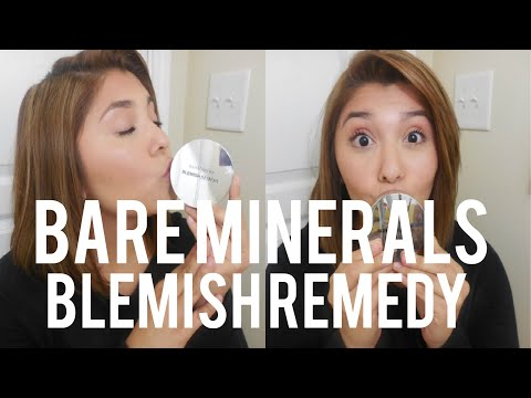 FULL IN DEPTH REVIEW + DEMO: Bare Minerals Blemish Remedy Foundation