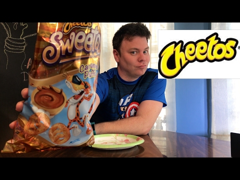 CHEETOS SWEETOS CARAMEL PUFFS REVIEW   THE SHOWSTOPPER SHOWS