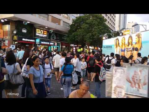 【Hong Kong Walk Tour】Ocean Terminal & Harbour City 海港城 @ Sunday Evening