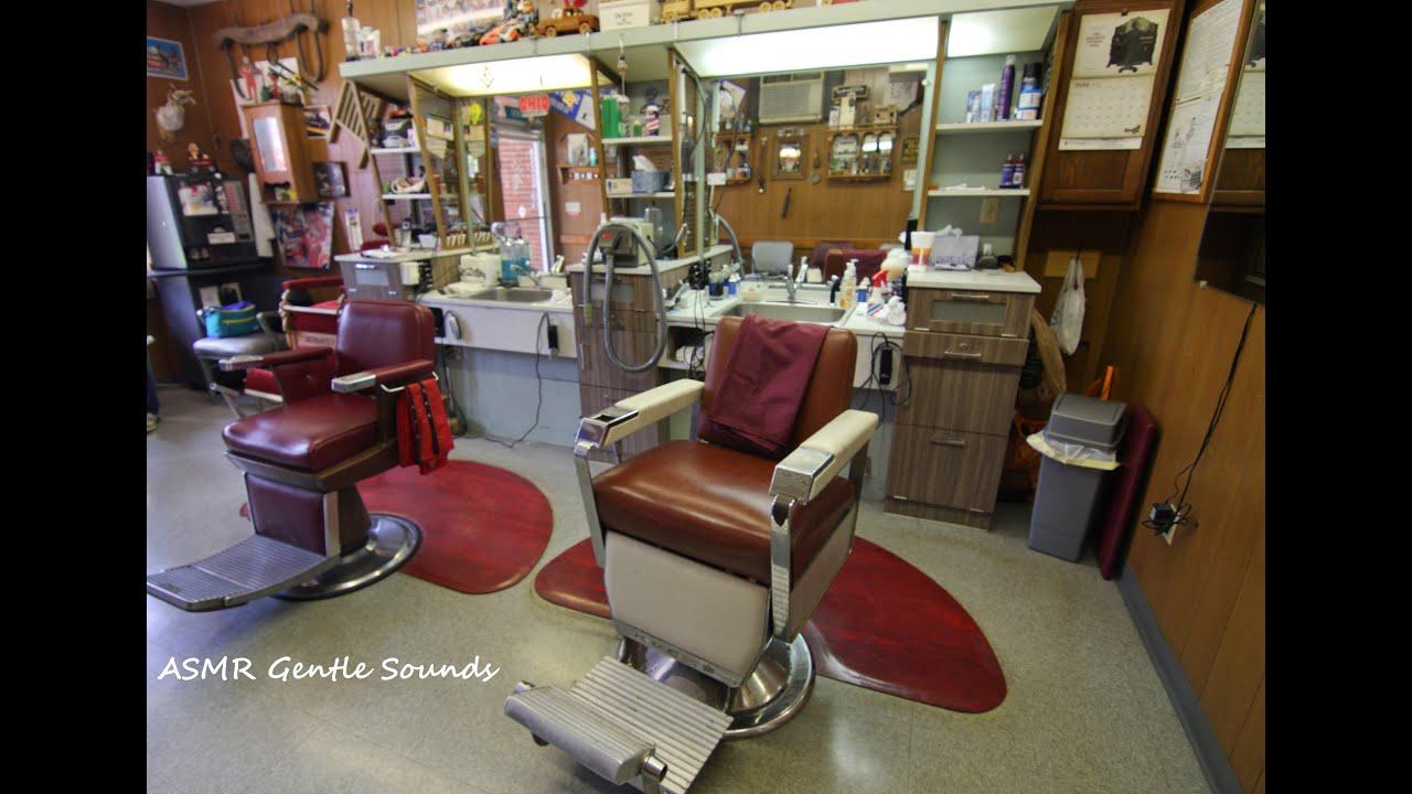 Barber Realty : ASMR Barber Shop Real Haircut Binaural sounds - YouTube