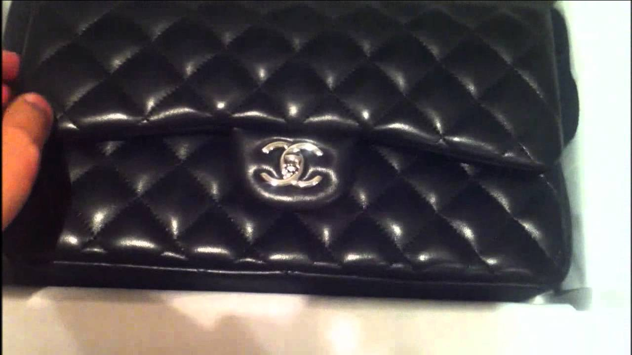 6362684cad3a Unboxing of a Chanel Classic - The 2.55 Jumbo Lambskin Flap Bag - YouTube