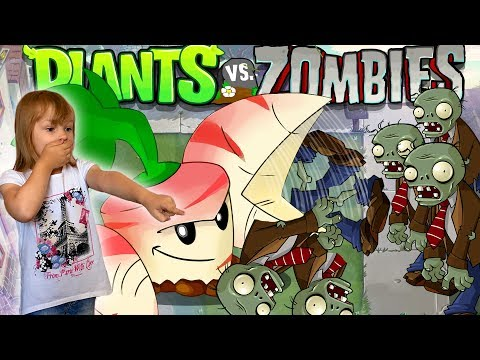 Растения против ЗОМБИ Parsnip Plants vs Zombies