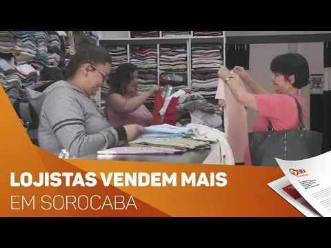 Lojistas vendem mais no inverno - TV SOROCABA/SBT
