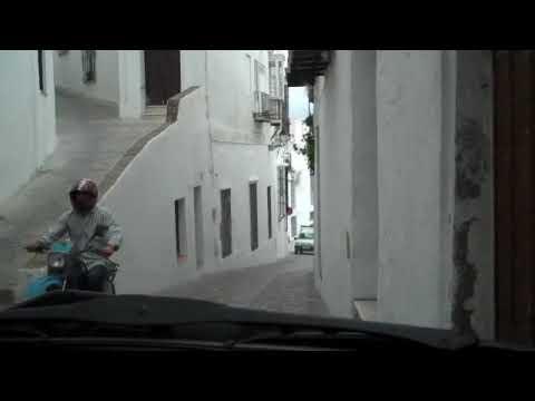 Insane Driving In Spain: Leaving Arcos De La Frontera