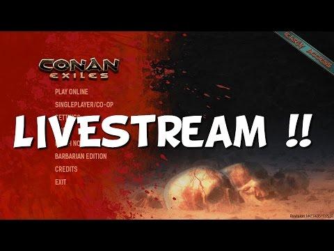 Conan Exile | Time to go ! Livestream